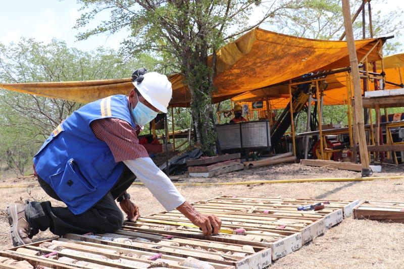 Campaña de perforación en prospecto de veta de Cacao