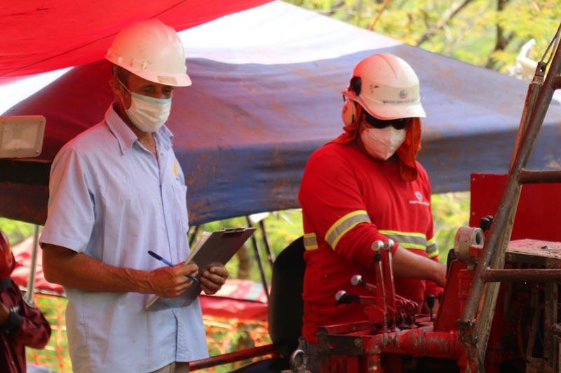 La India drilling campaign advances
